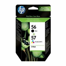 Original HP 56/57 Black & Colour Ink Cartridges SA342AE Deskjet 5510 Printers