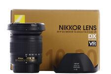 Nikon AF-P DX 10-20mm f/4.5-5.6G VR: