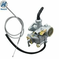 Carburetor With Throttle Cable Fit For Honda CT70 CT70H 1969 To 1977 Trail Bike