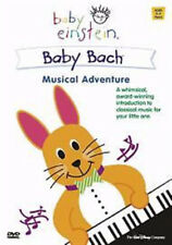 BABY EINSTEIN BABY BACH MUSICAL ADVENTURE 0 - 3 YEARS WALT DISNEY UK DVD VGC