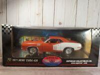 Supercar / Highway 61 1971 Plymouth Hemi Cuda 426 1:18 Scale Diecast Model Car