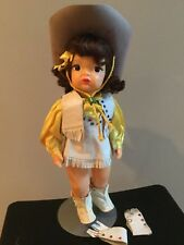 Doll Terri Lee Brunette Cowgirl Tagged 1950s