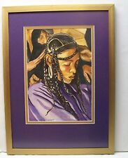 Coming of Age Edith Hunsberger Print Framed and Signed