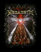 MEGADETH cd cvr ENDGAME Official 2-Sided SHIRT XXL 2X New end game
