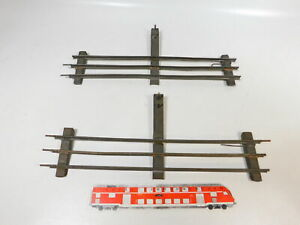 CD713-0, 5 #2x Bing /GB / Gbn Gauge 1 Side Track For Electric Operated