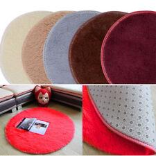 RD Absorbent Soft Memory Foam Bath Bedroom Floor Shower Round Mat Rug Non-slip