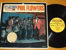 "DOO-WOP GROUP / R&B LP - PHIL FLOWERS - MOUNT VERNON 154 - ""RHYTHM an' BLUES"""