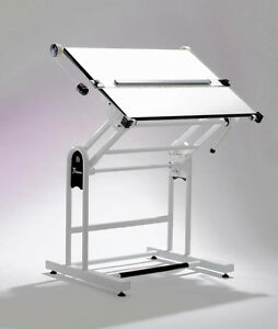 Blundell Harling A0 White Drawing Board Unit Forum Weymouth Workstation