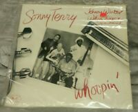 SONNY TERRY/JOHNNY WINTER/WILLIE DIXON ~ WHOOPIN' LP (1984) HARMONICA BLUES NM