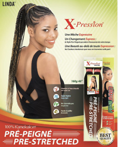 New X-Pression Xpression Ultra Braid Pre-Stretched hair 170G KANEKALON
