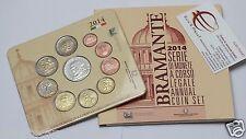 2014 10 monet 10,88 EURO fdc ITALIA BU Italie Italien Italy 5 Bramante 2 Galilei