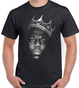 Biggie Smalls T-Shirt Mens The Notorious B.I.G. Death Row Tupac Records 2Pac TEE