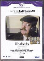 2 Dvd Sceneggiati RaiI IL BALORDO con Tino Buazzelli Teo Teocoli completa 1978