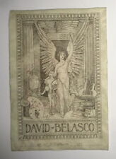 David Belasco Ex-Libris Bookplate