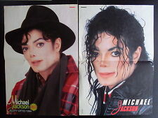 MICHAEL JACKSON - 2 posters from Polish Magazine BRAVO