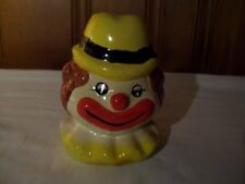Vintage Ceramic Hand Painted Clown Bank….Pre-Owned