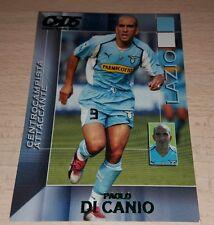 CARD CALCIATORI PANINI 2004/05 LAZIO DI CANIO CALCIO FOOTBALL SOCCER ALBUM