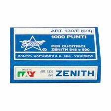 PUNTI ZENITH 130/E PER CUCITRICE SPILLATRICE PUNTI 6/4 SC. DA 10000 PZ (10 sc.)