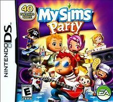 MySims Party (Nintendo DS) Lite Dsi xl 2ds 3ds xl my sims the