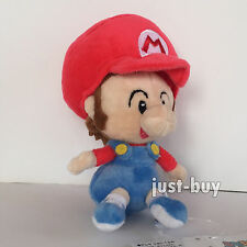 Super Mario World Bros. Plush Soft Toy Baby Mario Stuffed Animal Doll Teddy 6""