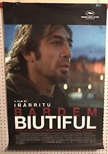 Original Movie Poster Biutiful Double Sided 27x40