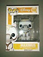 "Damaged Box - Pop Disney: Tangled - Maximus 3.75"" Funko Vinyl VAULTED"