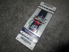 CAREY PRICE Montreal Canadiens SIGNED 2015 All-Star Game Skills Ticket Stub COA