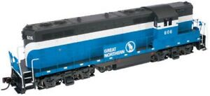 N ATLAS 48089 GP 7 GN Great Northern  Rd#614  DCC Ready