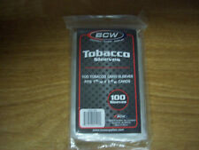 Tobacco Card Sleeves by BCW, Package of 100 Sleeves