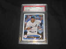 DEREK JETER 2012 TOPPS UPDATE #US119 STAR GENUINE AUTHENTIC BASEBALL CARD PSA 9