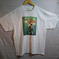 Diego maradona t shirt Vintage XL collectable. White
