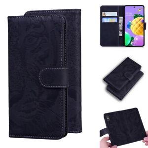 Magnetic Flip Holder Card Slot Wallet Phone Case For LG K52 Stylo 6 K61 K41S