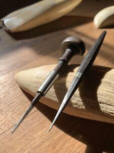 19th's Sanctuary Antique Scrimshaw  Engraving Carving Tool