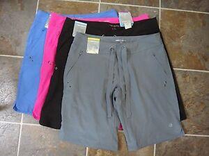 NWT FREE COUNTRY Women's Bermuda Shorts Hot Pink, blue, black, Grey