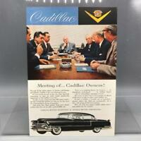 Vintage Magazine Ad Print Design Advertising Cadillac Automobiles