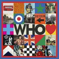The Who - WHO limited cream & black Vinyl Edition 2 LP 180g limited new sealed