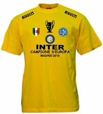 T-SHIRT INTER CHAMPIONS LEAGUE SCUDETTO COPPA MAGLIA TRIPLETE felpa polo italia