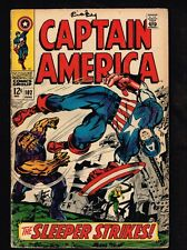 Captain America #102 - The Sleeper Strikes - 1968 (VG+) WH