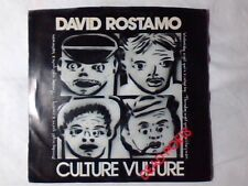 "DAVID ROSTAMO Culture vulture 7"" USA RARISSIMO"
