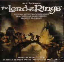 The Lord Of The Rings-1978 - Leonard Rosenman-Original Soundtrack CD