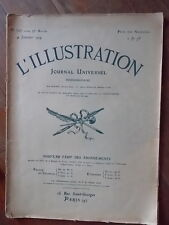 REVUE L'ILLUSTRATION 1919 PRESIDENT WILSON - PARIS BOMBARDE + CARTES & PHOTO SOS
