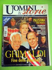 UOMINI E STORIE:GRIMALDI-FINE DELLA DINASTIA? RANIERI ALBERTO GRACE KELLY.1999