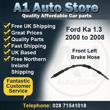 Ford Ka 1.3 2000 to 2008 Front Left Brake Hose