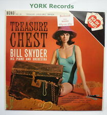 BILL SNYDER - Treasure Chest - Excellent Condition LP Record Ace Of Hearts AH 30