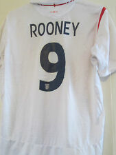 England 2005-2007 Rooney Home Football Shirt Adult Large Euro 2016 /40560