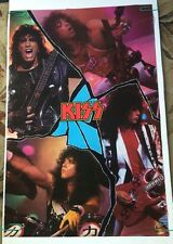 K.I.S.S. Collage pin-up Poster Photo Picture On Stage Simmons 1988 Winterland