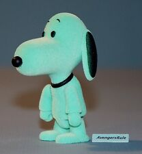 Peanuts Snoopy Qee Series 1 Green 2/15 Rarity