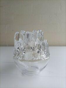 Magnificent ! KOSTA BODA Polar Glass Lantern by GORAN WARFF ! Free Postage !!