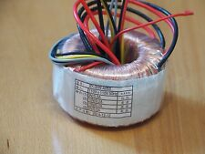 toroidal transformer 15vx2 0.2a 9vx2 0.5a 1pc for preamp & headphone amp !