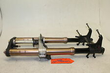 05-06 SUZUKI GSXR 1000 GSX-R FRONT END FORKS SUSPENSION TRIPLE TREE AXLE 1000r